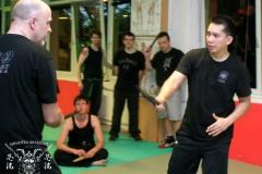 Training mit Dino Flores